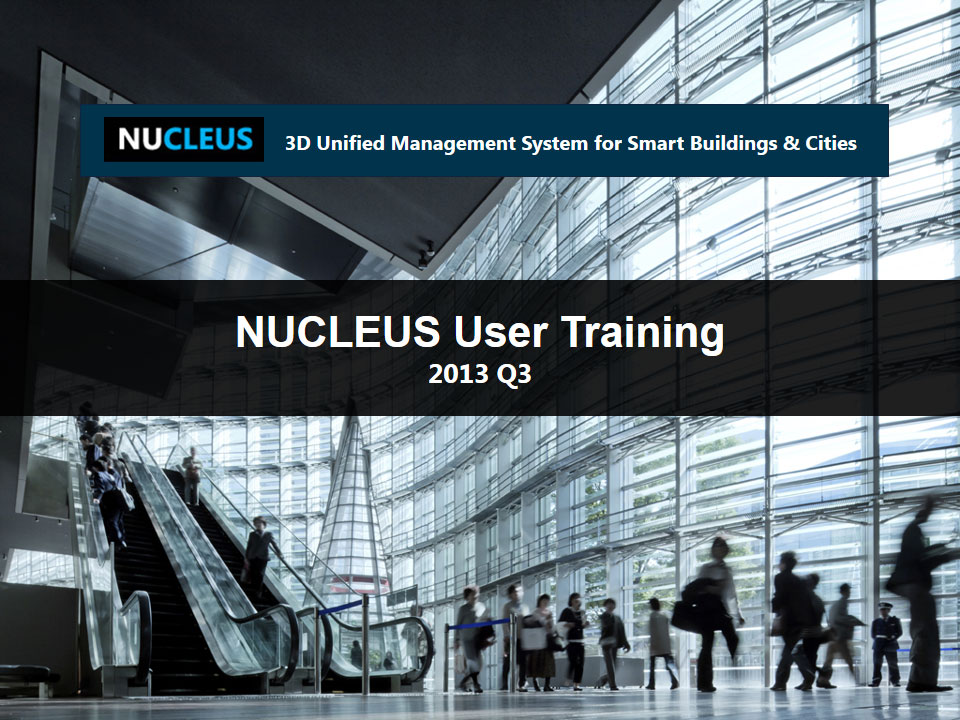 NUCLEUS User Training 2013 Q3