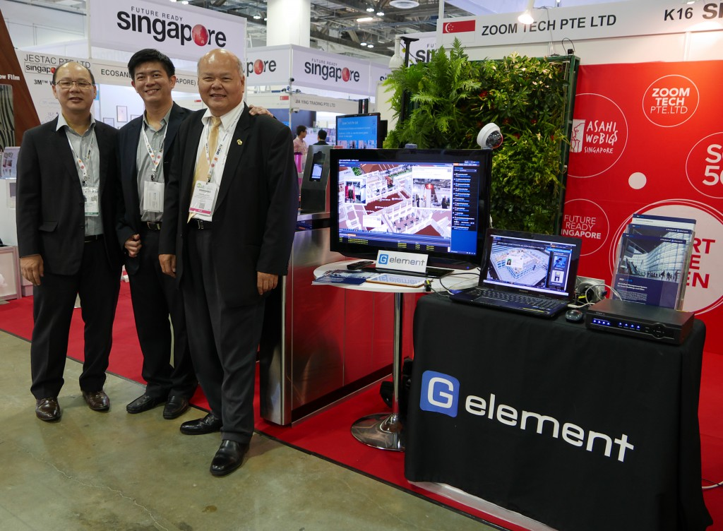 G Element booth