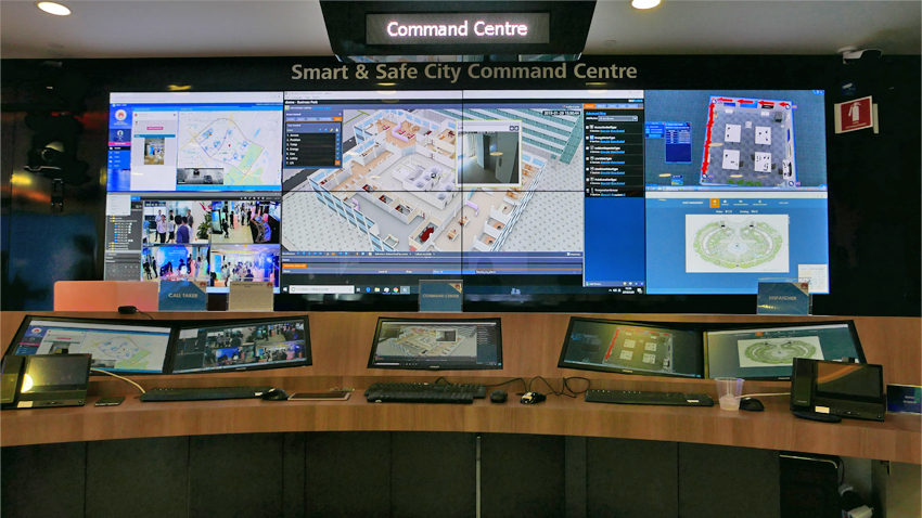 Huawei Openlab 2.0 Smart & Safe City Command Centre